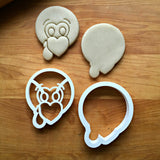 Set of 2 Cute Turkey Cookie Cutters/Dishwasher Safe