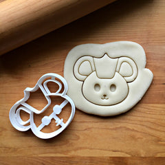 Cute Mouse King Cookie Cutter/Dishwasher Safe