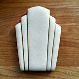 Flashy Fab/Art Deco Cookie Cutter/Dishwasher Safe