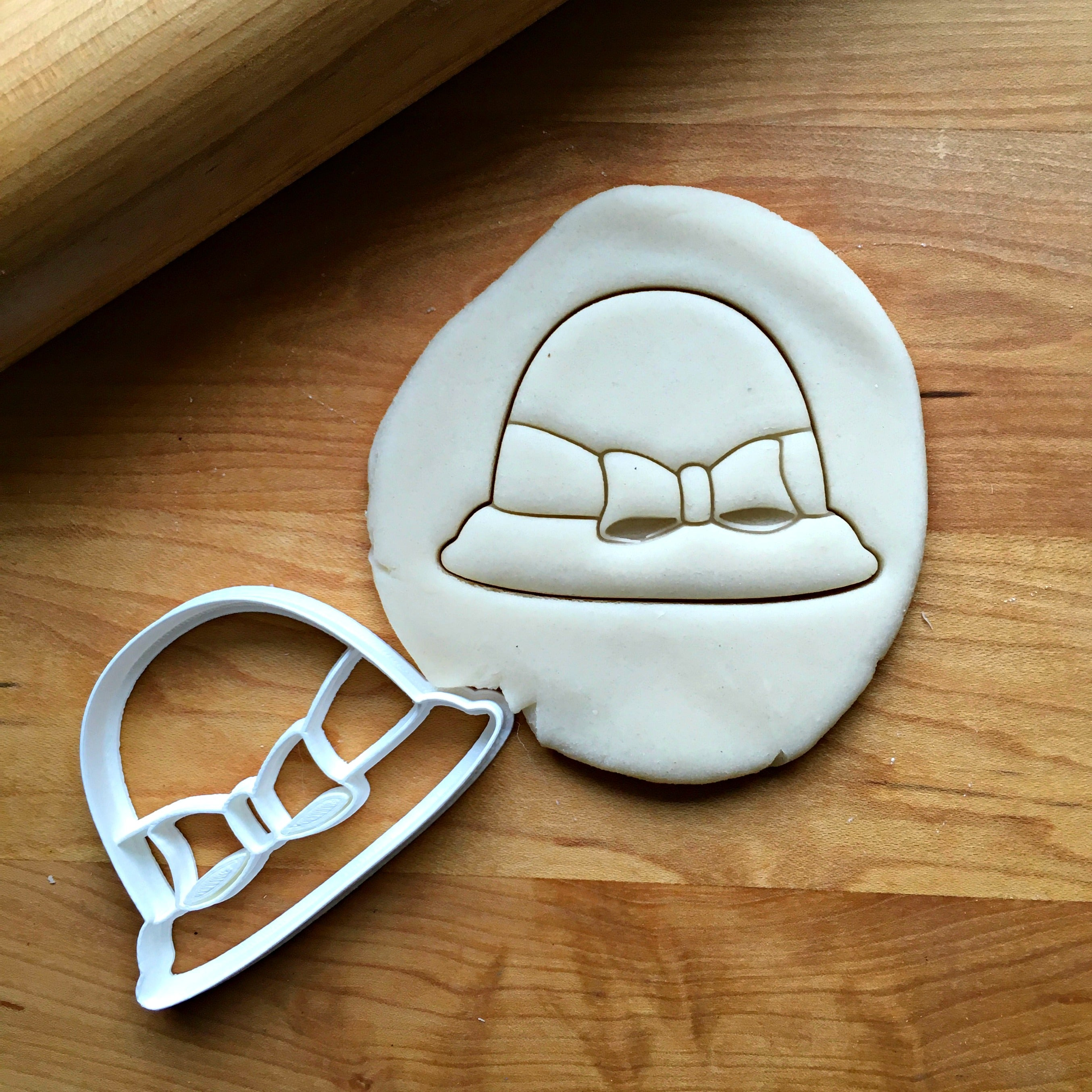 Bucket Hat With Bow Cookie Cutter/Dishwasher Safe