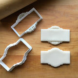 Set of 2 Arcade Frame/Art Deco Cookie Cutters/Dishwasher Safe