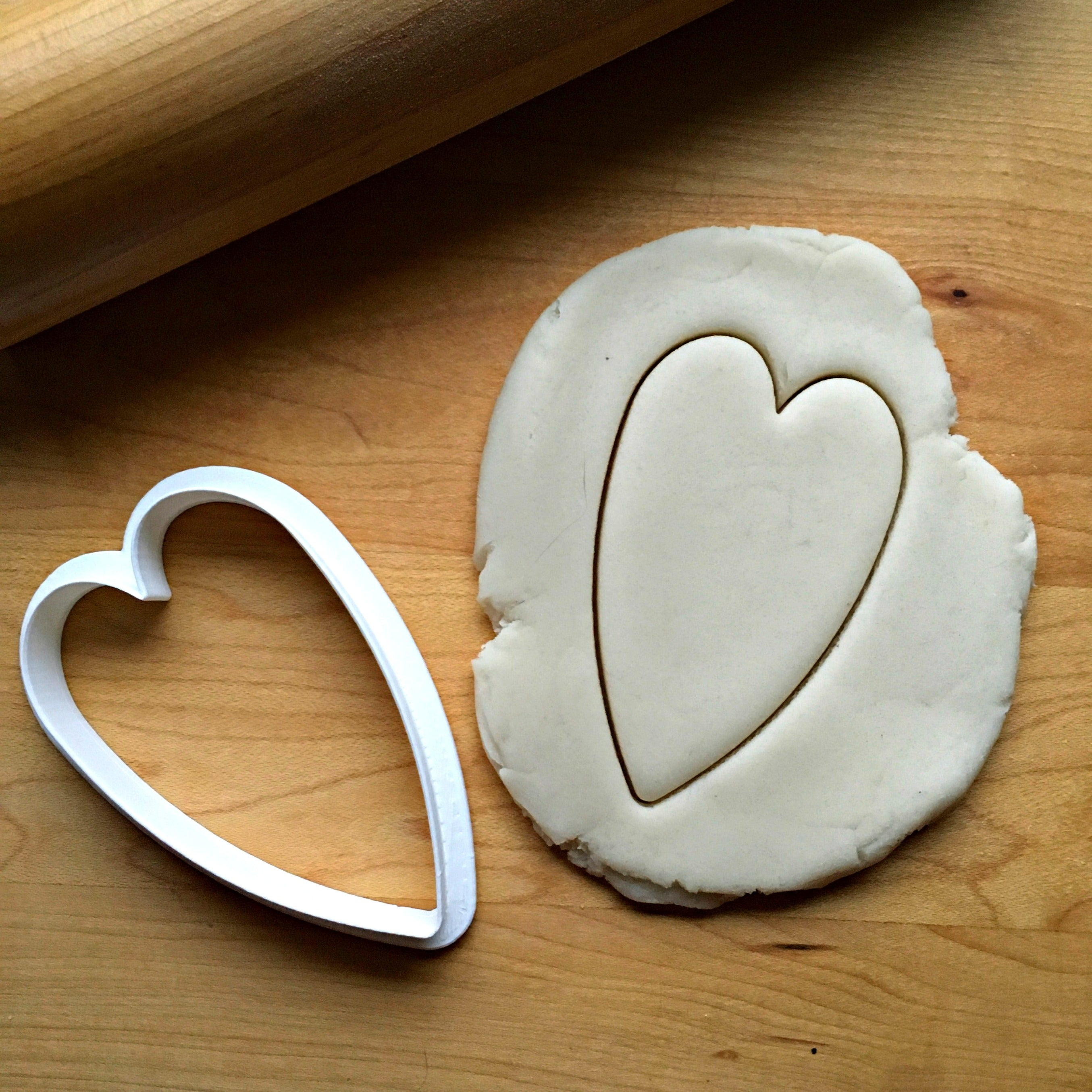 Skinny Heart Cookie Cutter/Dishwasher Safe