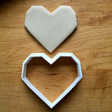 Geometric Heart Cookie Cutter/Dishwasher Safe