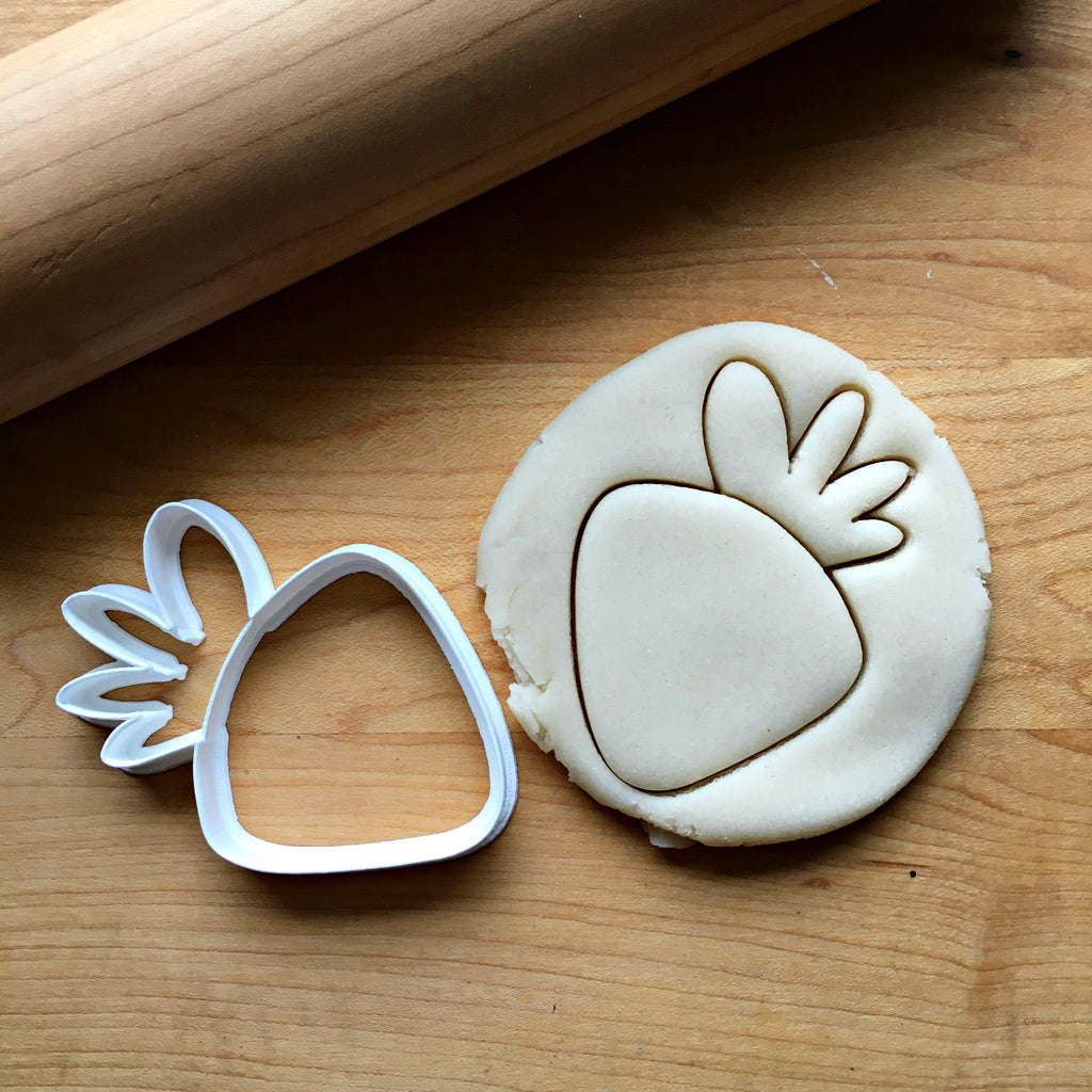 Carrot/Strawberry Cookie Cutter/Dishwasher Safe