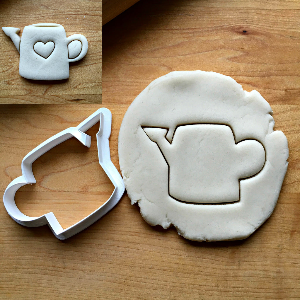 Watering Can Cookie Cutter/Dishwasher Safe/Template Included