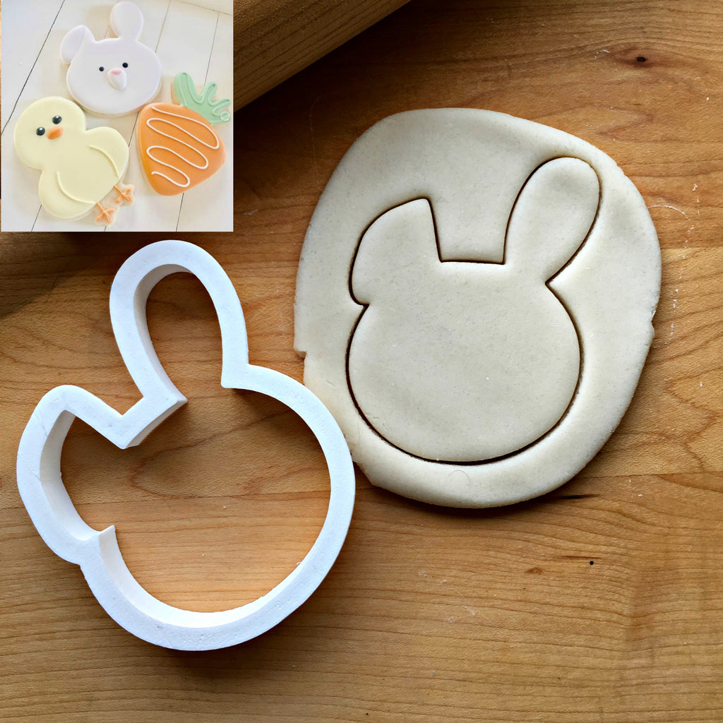 Cute Bunny Face Cookie Cutter/Dishwasher Safe