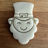 Smiling Leprechaun Face Cookie Cutter/Dishwasher Safe