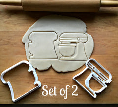 Set of 2 Stand Mixer Cookie Cutters/Dishwasher Safe