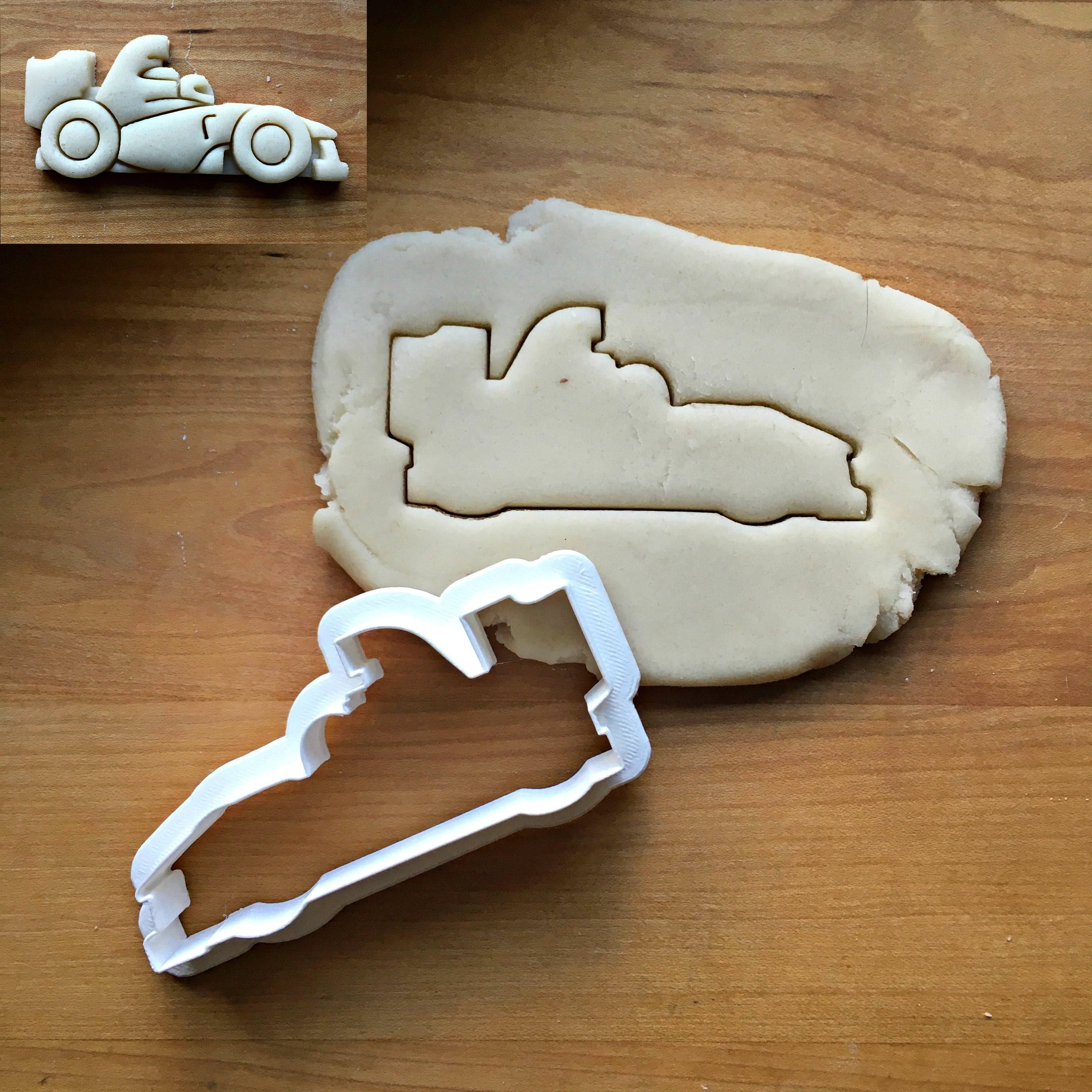 Race Car Cookie Cutter/Dishwasher Safe