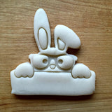 Bunny Plaque Cookie Cutter/Dishwasher Safe