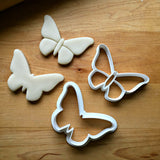 Set of 2 Butterfly Cookie Cutters/Dishwasher Safe