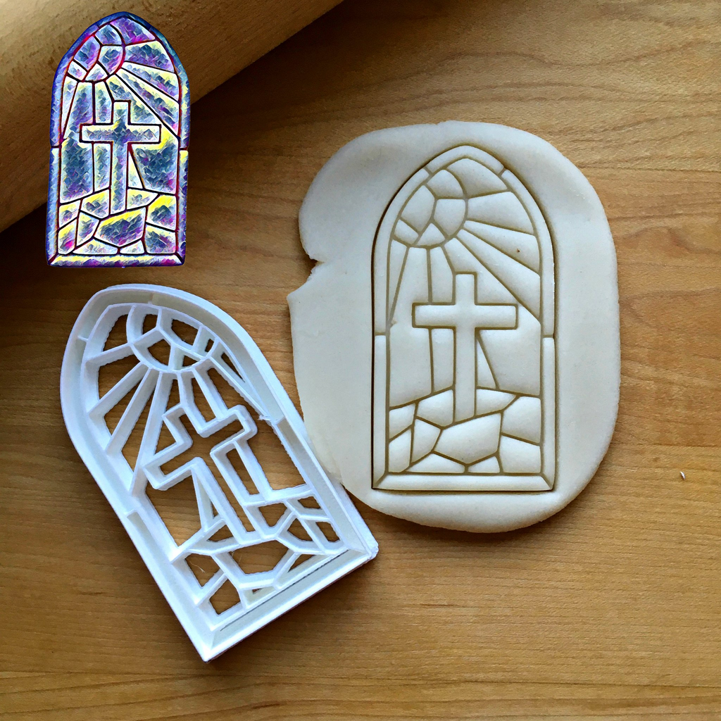Stained Glass Window Cookie Cutter/Dishwasher Safe