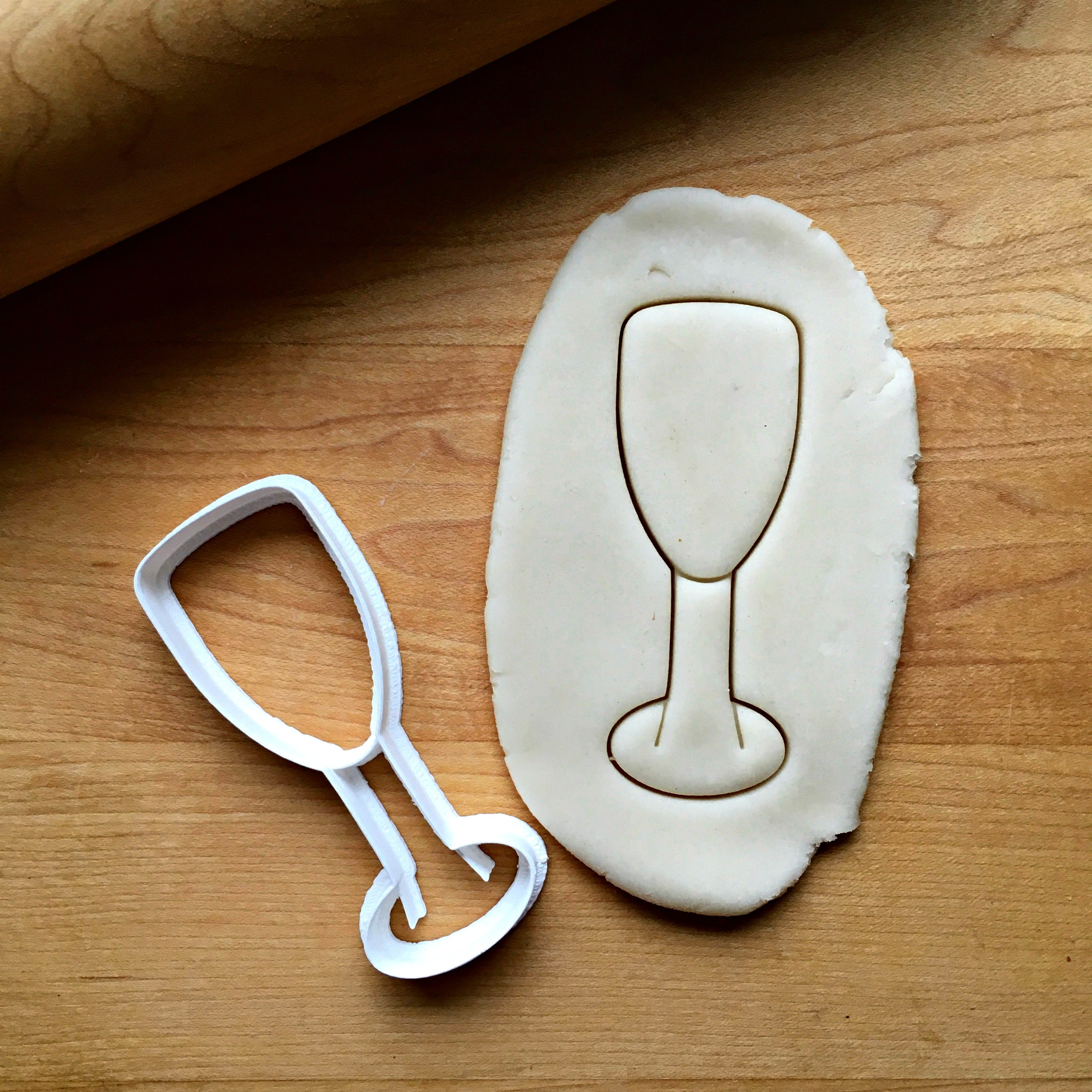 Champagne Glass Cookie Cutter/Dishwasher Safe