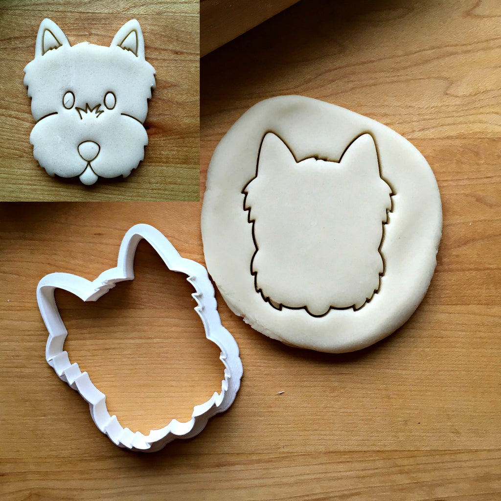Yorkie/Terrier Dog Cookie Cutter/Dishwasher Safe