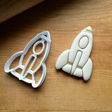 Rocket Ship Cookie Cutter/Dishwasher Safe