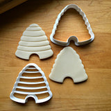 Set of 2 Bee Hive Cookie Cutters/Dishwasher Safe
