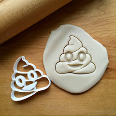 Poop Emoji Cookie Cutter/Dishwasher Safe