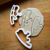 Set of 2 Fishing Pole Cookie Cutters/Dishwasher Safe