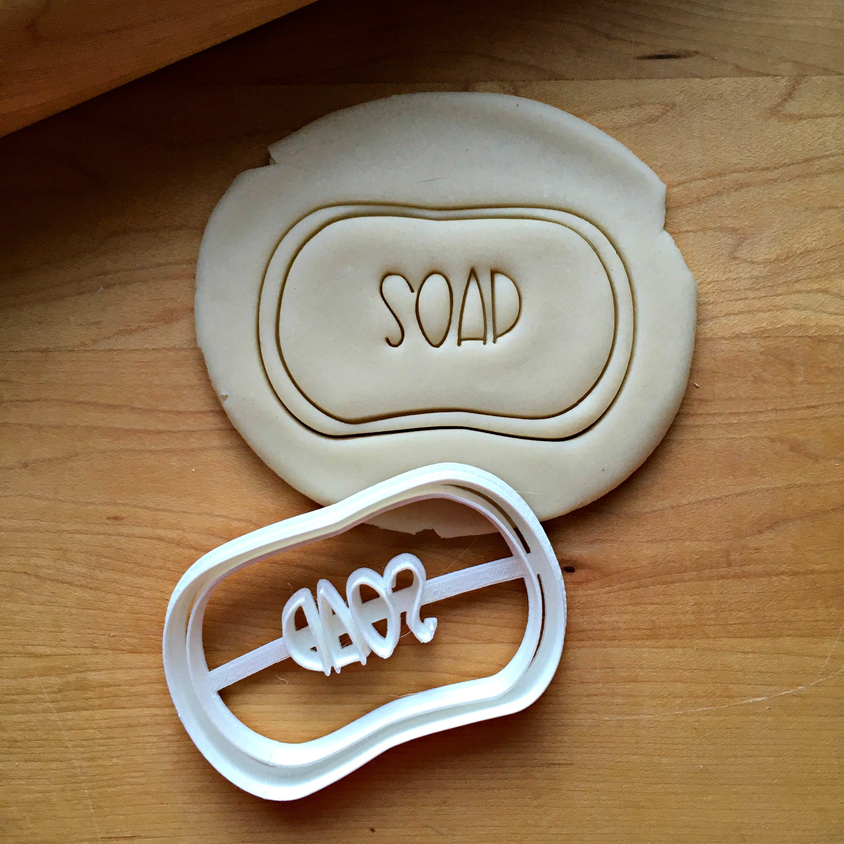 Bar of Soap Cookie Cutter/Dishwasher Safe