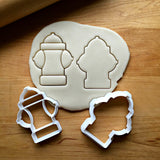 Set of 2 Fire Hydrant Cookie Cutters/Dishwasher Safe