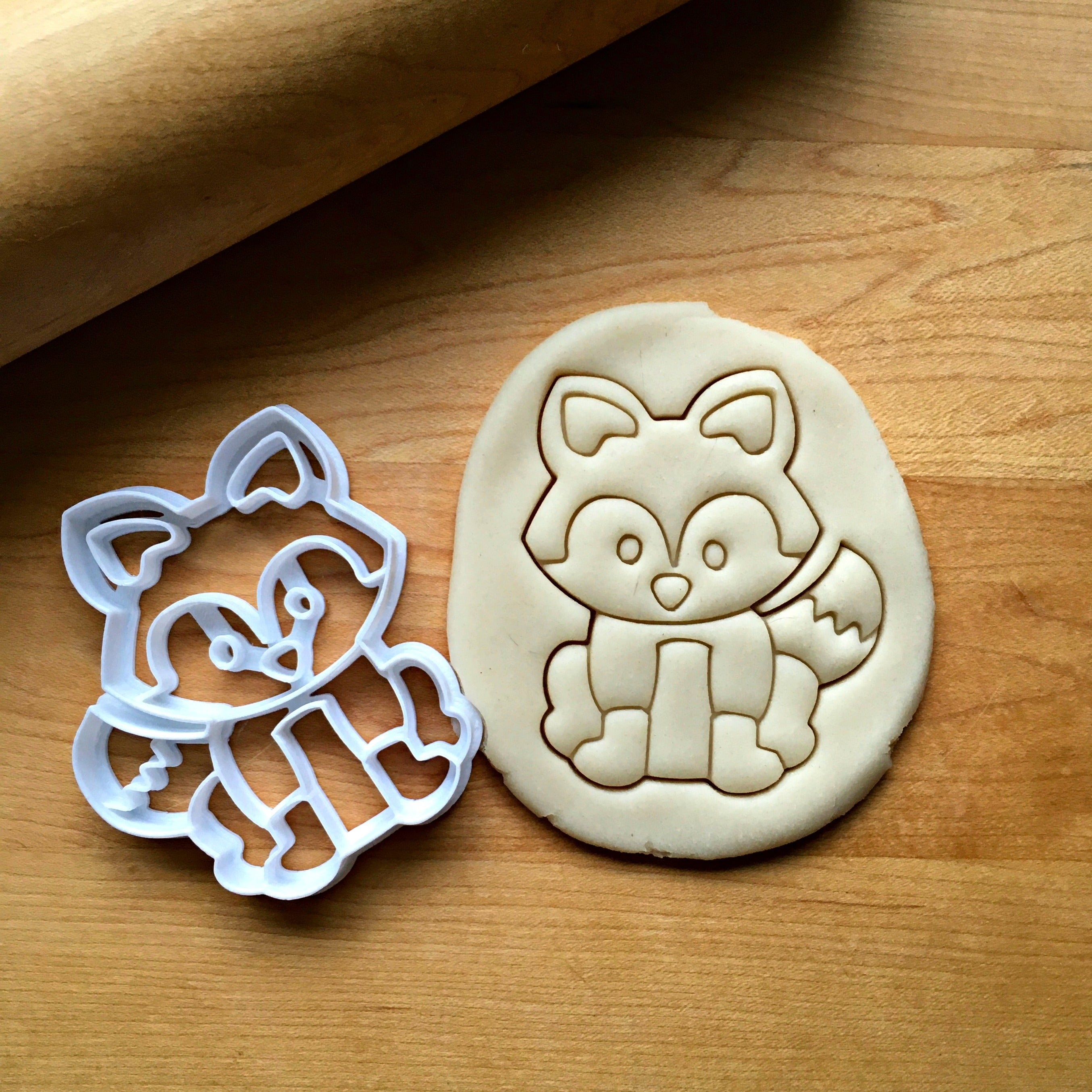 Fox/Raccoon Cookie Cutter/Dishwasher Safe