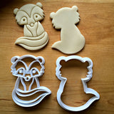 Set of 2 Skunk Cookie Cutters/Dishwasher Safe