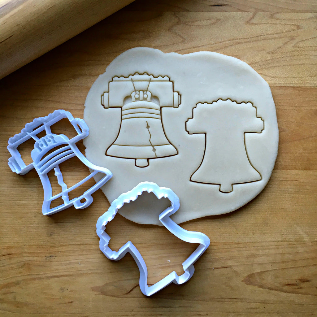 Set of 2 Liberty Bell Cookie Cutters/Dishwasher Safe