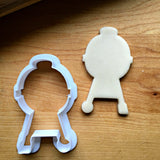 Set of 4 Father's Day Chef Cookie Cutters/Dishwasher Safe