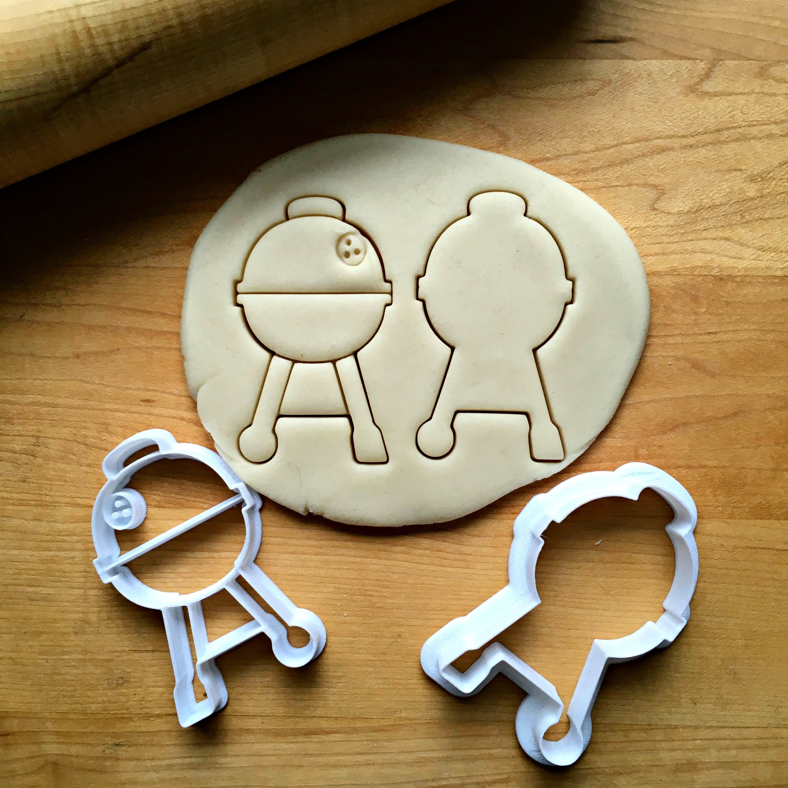 Set of 2 Grill Cookie Cutters/Dishwasher Safe