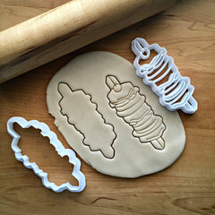 Set of 2 Shish Kabob Cookie Cutters/Dishwasher Safe