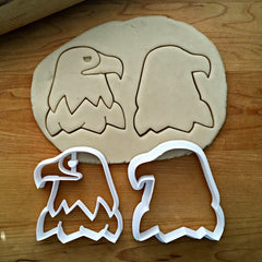 Set of 2 Eagle Cookie Cutters/Dishwasher Safe