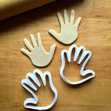 Set of 2 Jazz Hands Cookie Cutters/Dishwasher Safe