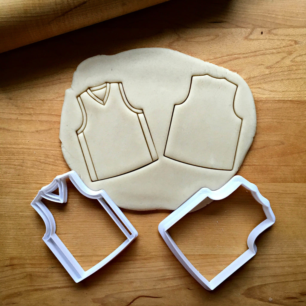 Set of 2 Basketball Jersey Cookie Cutters/Dishwasher Safe
