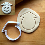 Graduate Emoji Cookie Cutter/Dishwasher Safe