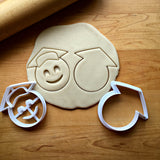 Set of 2 Graduate Emoji Cookie Cutters/Dishwasher Safe