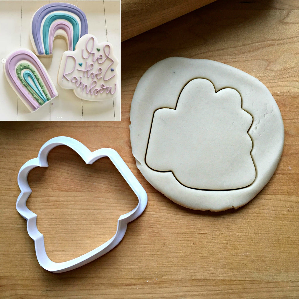 Over the Rainbow Cookie Cutter/Dishwasher Safe