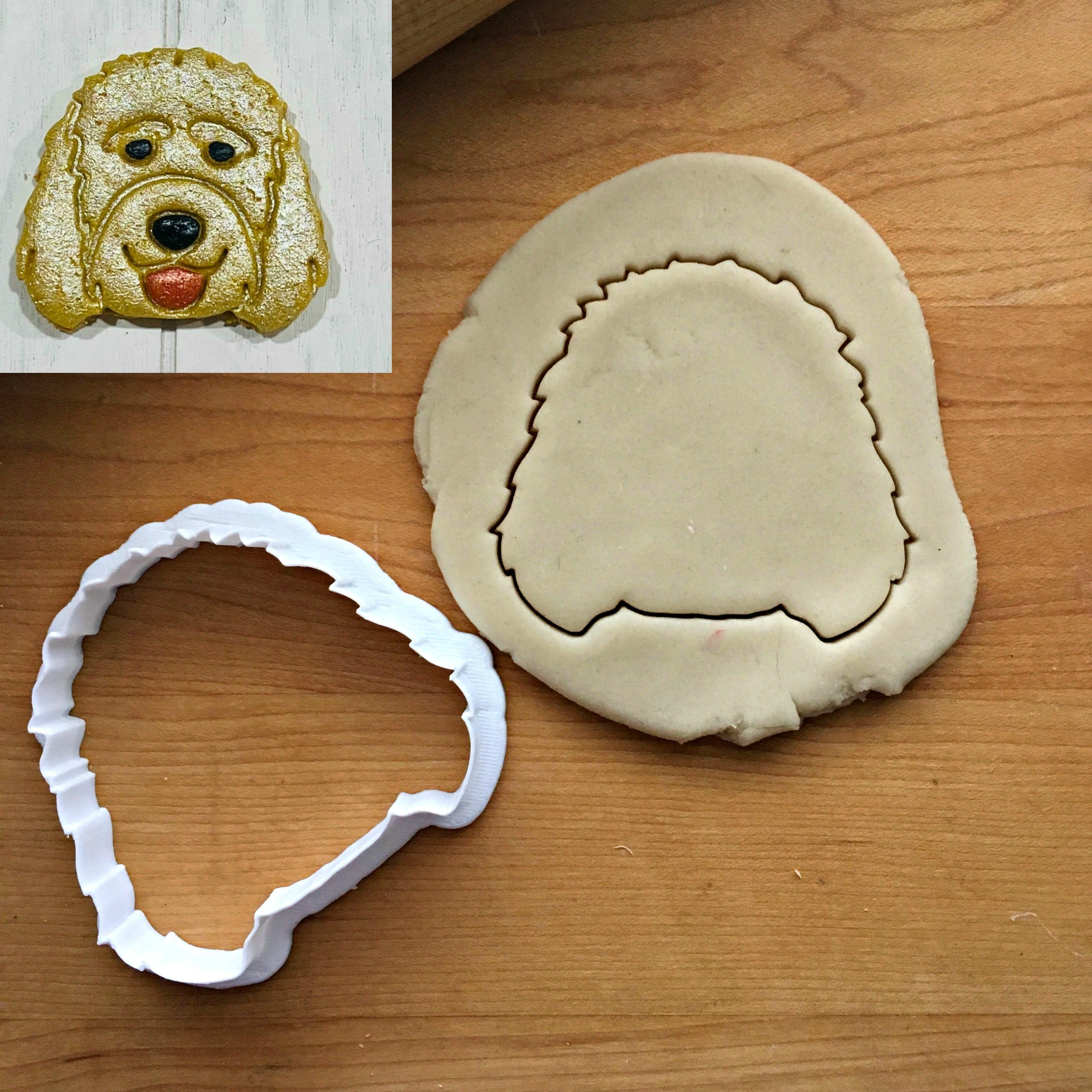 Golden Doodle Dog Cookie Cutter/Dishwasher Safe