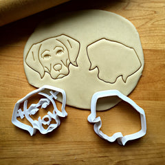 Set of 2 Labrador Retriever Cookie Cutters/Dishwasher Safe