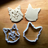 Set of 2 Border Collie Dog Cookie Cutters/Dishwasher Safe