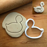 Flamingo Pool Floatie Cookie Cutter/Dishwasher Safe