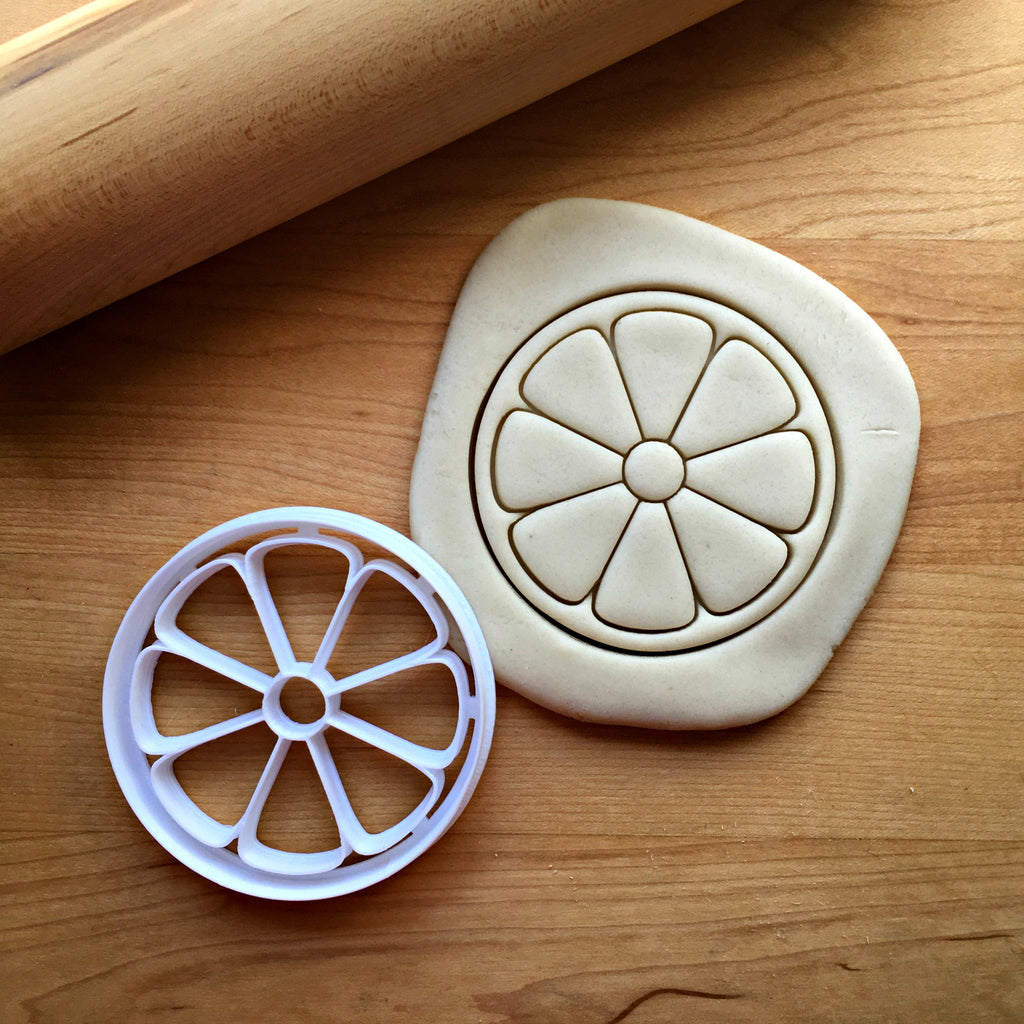 Citrus Round Cookie Cutter/Dishwasher Safe