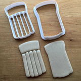 Set of 2 Inflatable Pool Floatie Cookie Cutters/Dishwasher Safe
