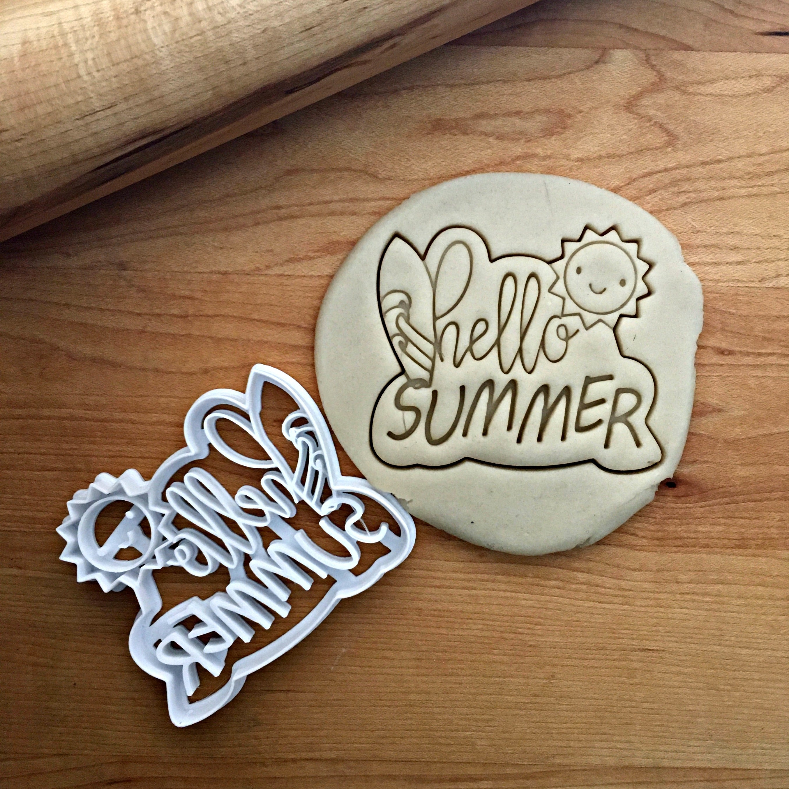Hello Summer Cookie Cutter/Dishwasher Safe