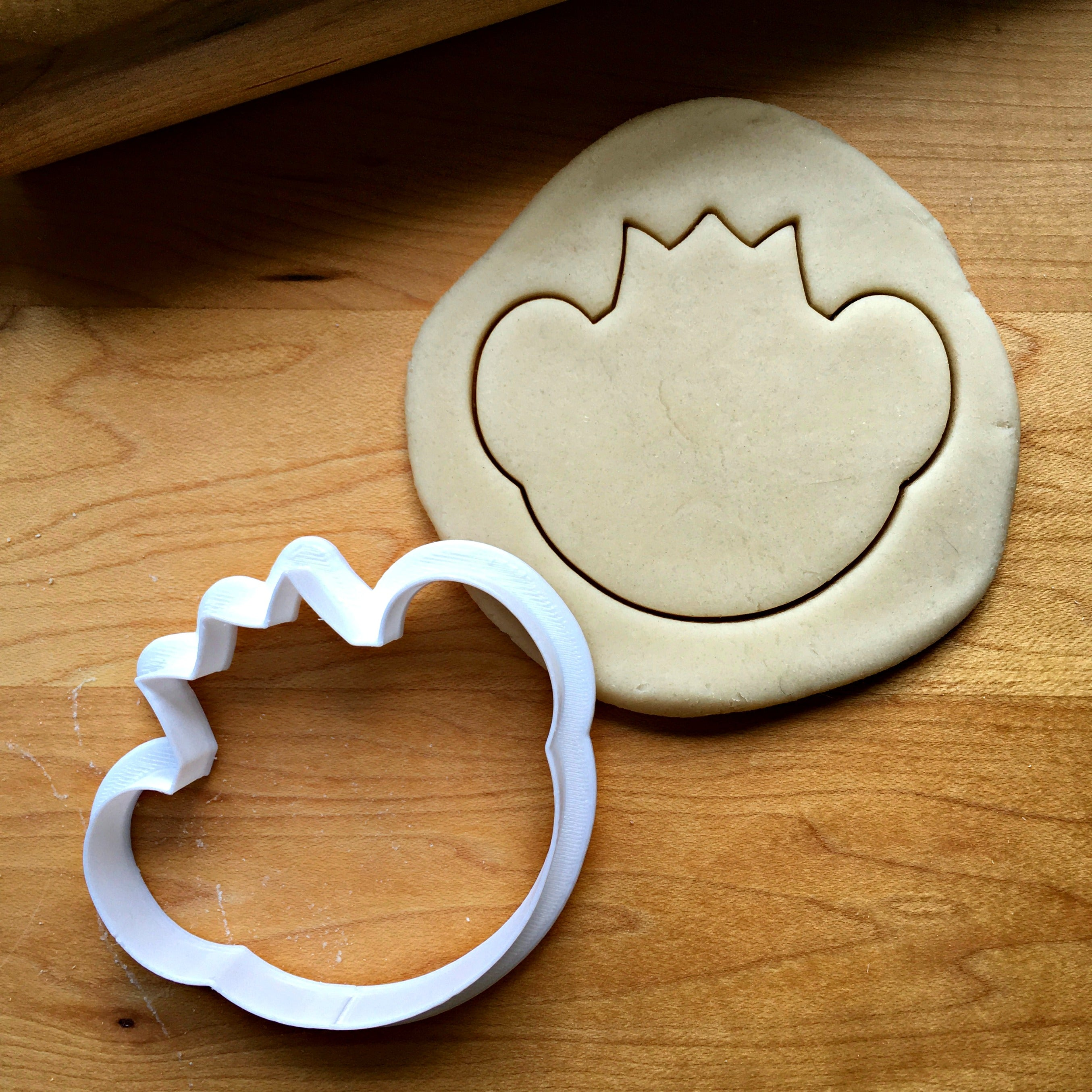 Tiger with Crown Cookie Cutter/Dishwasher Safe