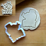 Nautical Number 5 Cookie Cutter/Dishwasher Safe