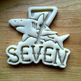 Nautical Number 7 Cookie Cutter/Dishwasher Safe