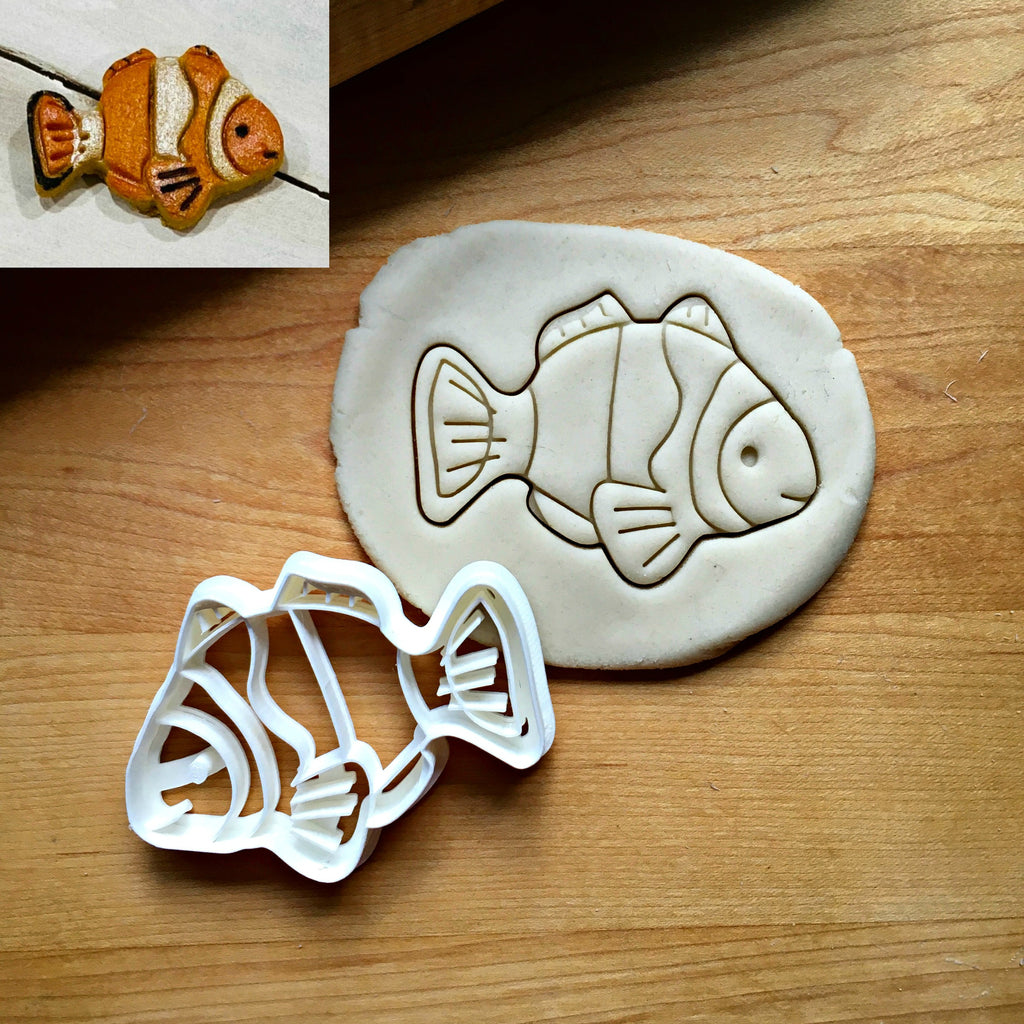 Clown Fish Cookie Cutter/Dishwasher Safe