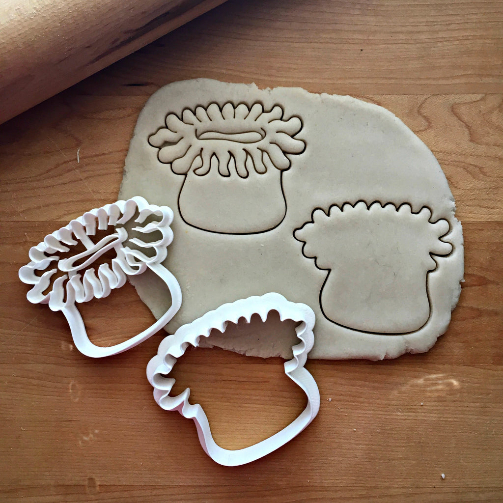 Set of 2 Sea Anemone Cookie Cutters/Dishwasher Safe