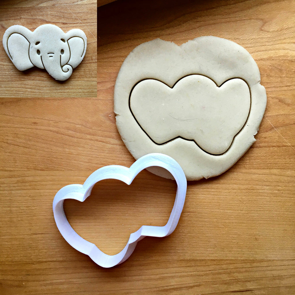 Baby Elephant Face Cookie Cutter/Dishwasher Safe