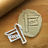 Sold Sign Cookie Cutter/Dishwasher Safe